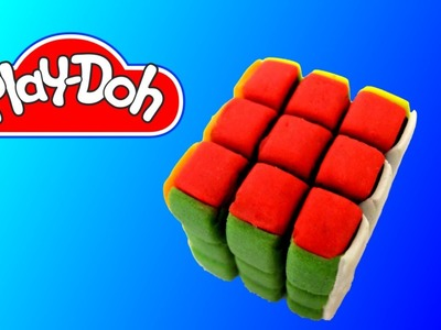 How to make Play Doh Rubik's Cube