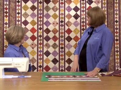 How To Make the Imperial Diamonds Quilt