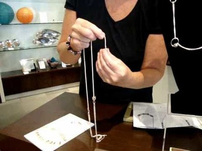 How To Video: New Chamilia Necklaces with Leslie Sink, Owner of Hi-Ho Silver