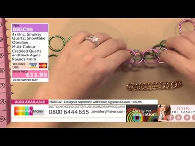 Learn How to Make Chain Maille Jewellery [Tutorial]: Jewellery Maker DI LIVE 01.11.14