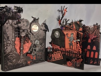 Recollections Castle Halloween Mini Album