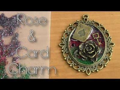Rose & Card Charm Tutorial