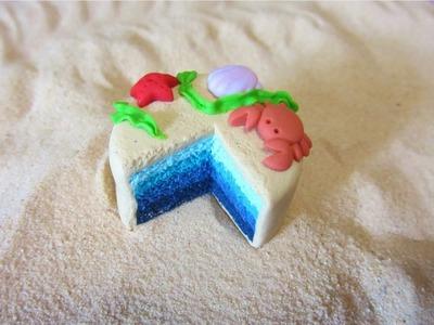 Sea cake tutorial - Torta marina (polymer clay)