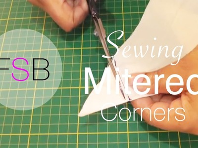 Sewing Mitred Corners