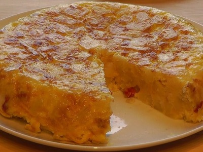 Spanish Omelette How to make Tortilla with Chorizo
