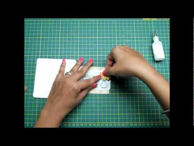 Special Folds: Double Fold Card - Sorry you caught a bug (Part 1)