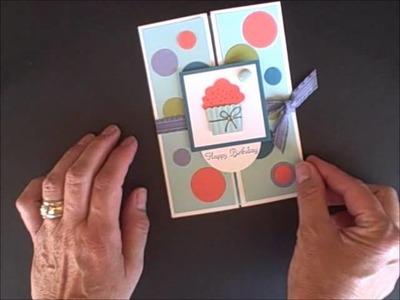Stampin' Pretty Center Gate Fold Card