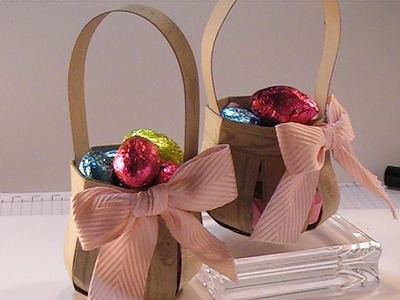 Stampin'Up! Mini Easter Basket Treat Holder