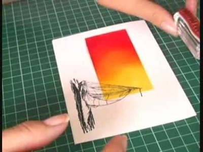 T.C.I.F. One Layer Card sponging technique.wmv