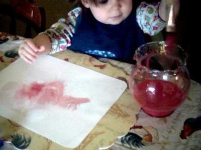 Waldorf Inspired Watercolor Painting Preschool