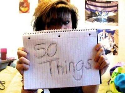 50 Things In My Room