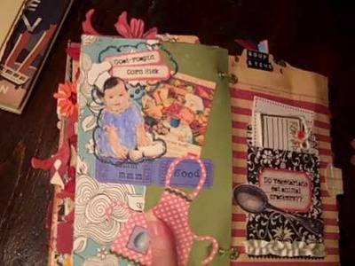 Altered recipe junk journal Part 2