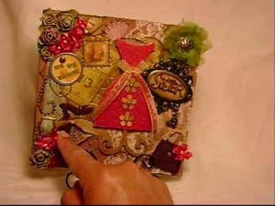 Beautiful Dressform 6x6 layout for my sister  Lisa!  (Vid#146)