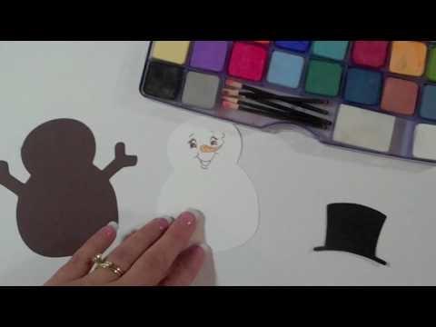 Cricut Episode 154 Snowman Card