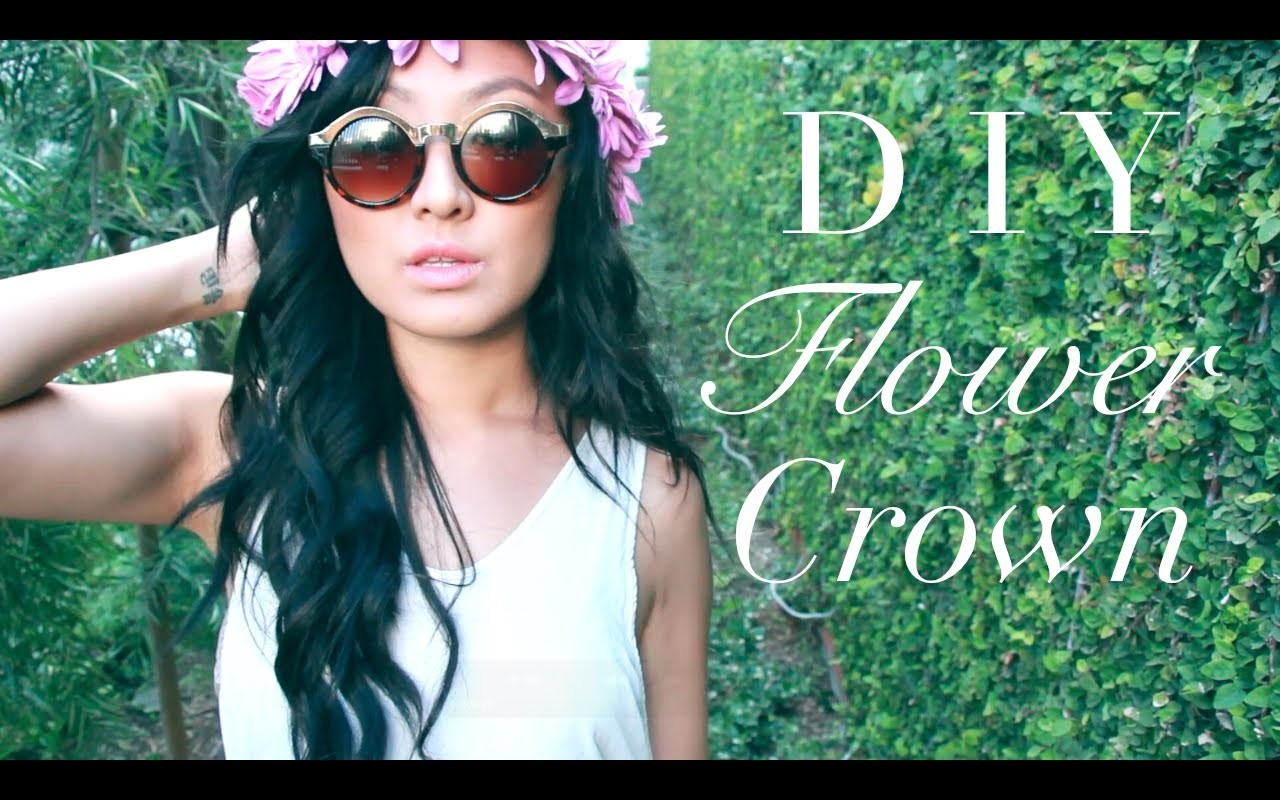 D I Y Flower Crown ♡ + Coachella Footage!!