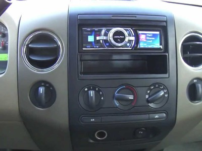 DIY Car Stereo install in a 2006 F150