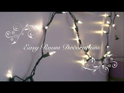 Easy Ways to Decorate your Room