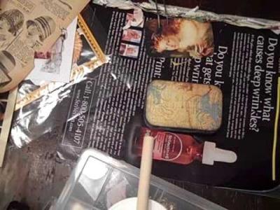 Fairies Altered Altoids Tin for YPP Mixed-Media Swap