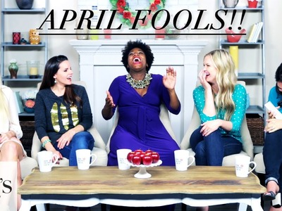 Fake Twitter Questions? April Fools Prank! | The Mom's View