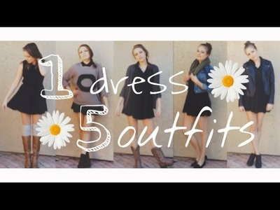 Five Ways To Style A Little Black Dress
