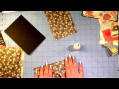 Flip book envelope mini album tutorial part 1