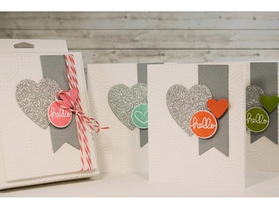 Hanging Box Card Set Teacher Gift