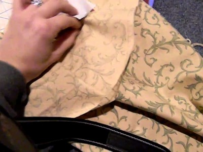 How to bond fabric to card stock
