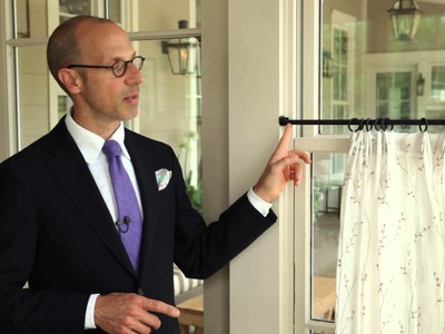 How To Hang Cafe Curtains | Southern Living