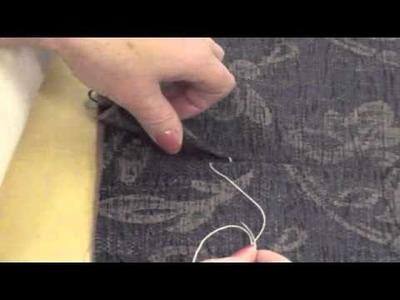 How to ladder. slip stitch