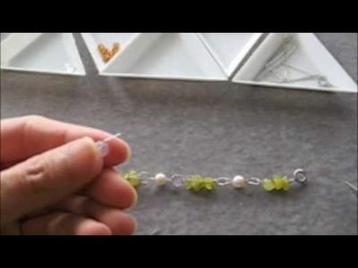 How-to Lesson - Spring bracelet for girls