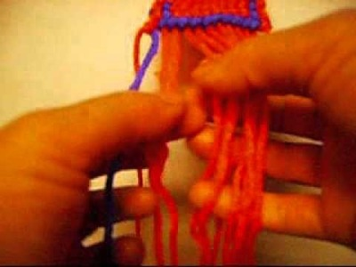 How To Make A alpha Friendship Bracelet With The Letter.T