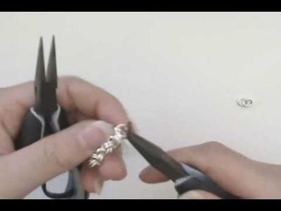 How to Make a Chain Mail Charm Bracelet