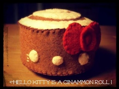 How To Make A Hello Kitty Cinnamon Roll Plushie Tutorial
