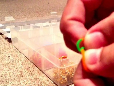 How to make a rainbow loom blanket charm
