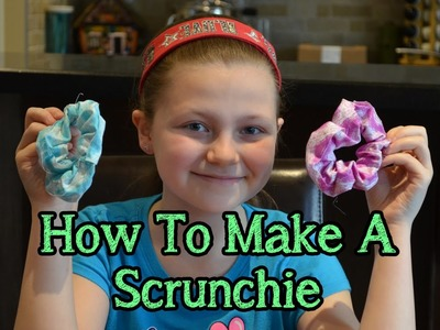 How To Make A Scrunchie | Bethany G