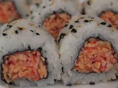 How To Make A Spicy Crab Sushi Roll