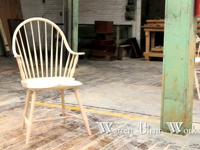 How to make a Windsor Chair  by Warren Chair Works