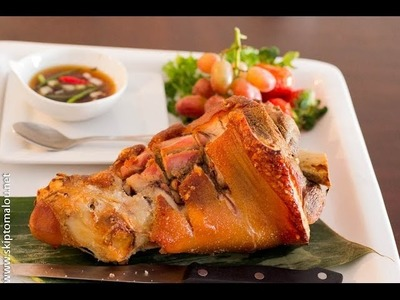 How to Make Crispy Pata (Crispy on the outside; tender and juicy on the inside)