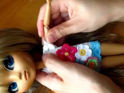 How to make doll outfit 14 - Decorated T-shirt
