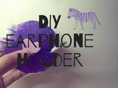 How to make earphone holder |  iphone 5 case giveaway (CLOSED)