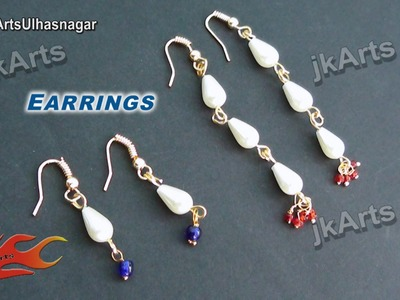 HOW TO: Make Earrings (Jewelry Making) JK Arts 516