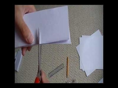 How to make paper desert eagle part 1