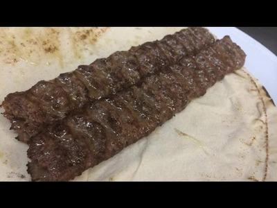 How To Make Persian Koobideh Kebab Recipe & How To Skewer