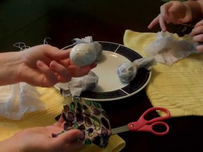 How to make Silk Dyed (Easter) Eggs