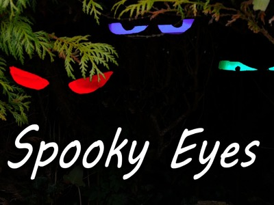 How to Make Spooky Halloween Eyes