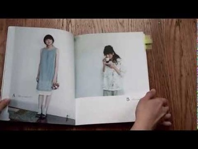 Japanese sewing pattern book review: Stylish Dress Book 1: Wear with Freedom in English