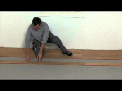 Laminate Flooring: Installation for Angle.Angle Method (7mm)