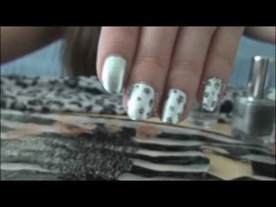 Leopard Print Nails Tutorial.