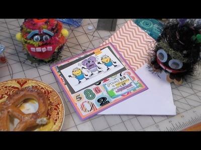Make a minion card
