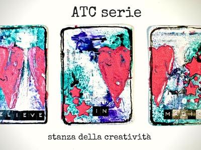 Mixed media atc serie